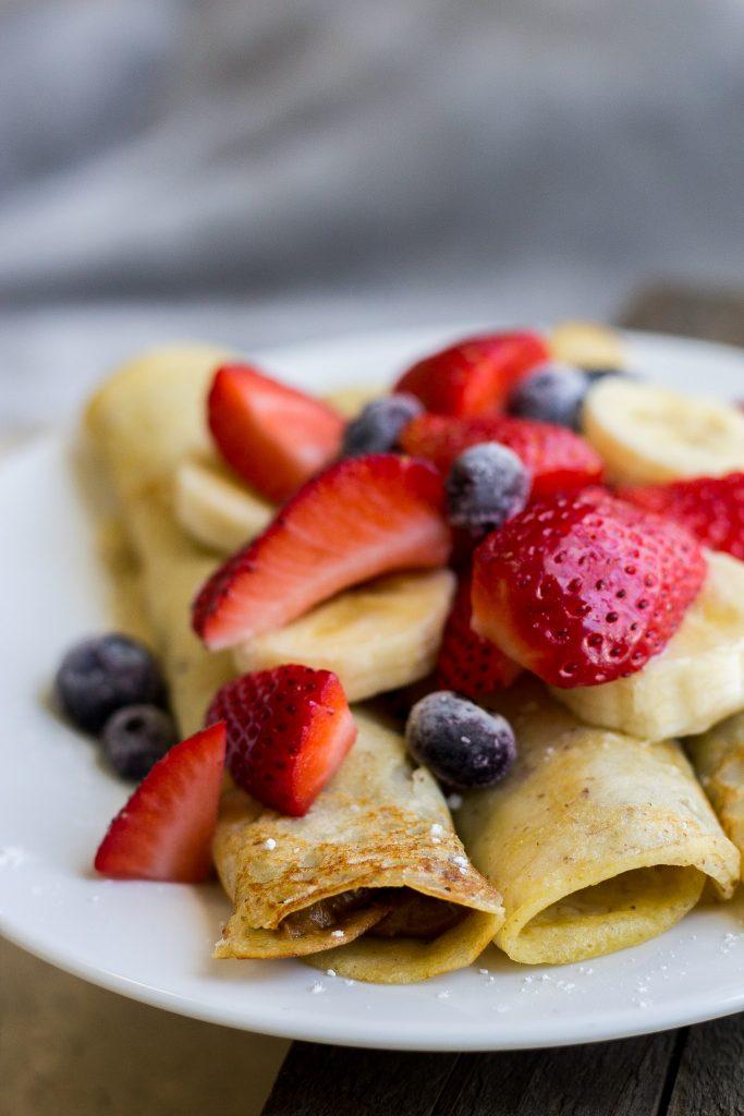Healthy Breakfast Crepes